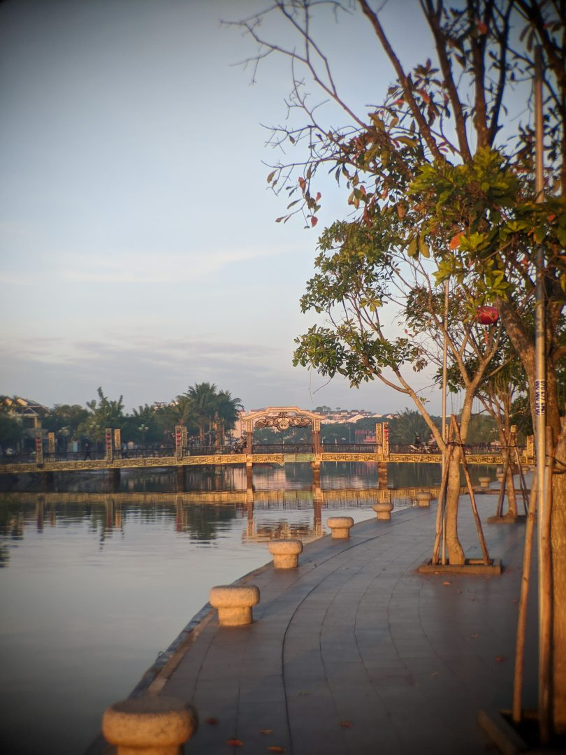 Riverfront view of Hoi An