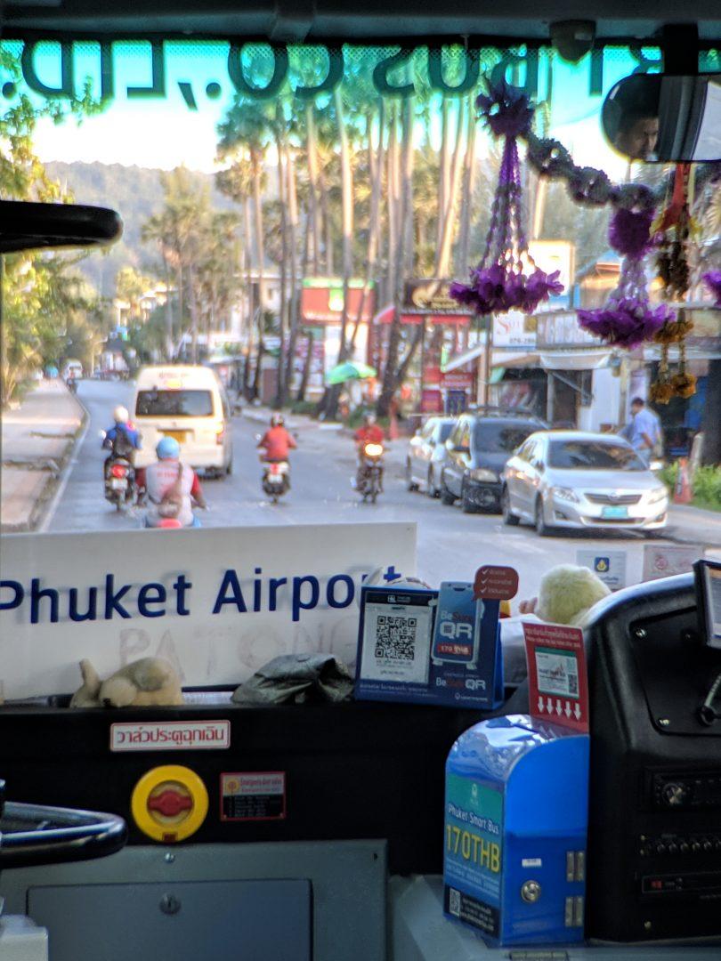 Phuket Smart Bus Payment Box