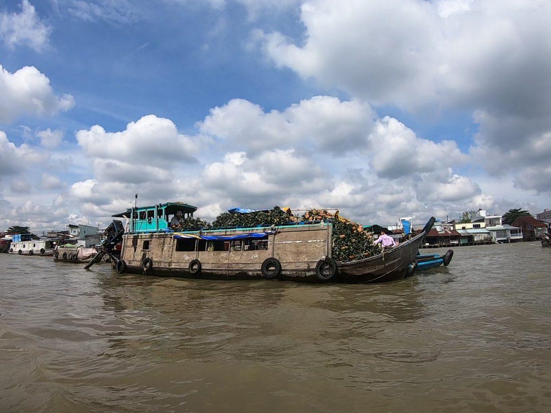 Mekong Delta produce boat