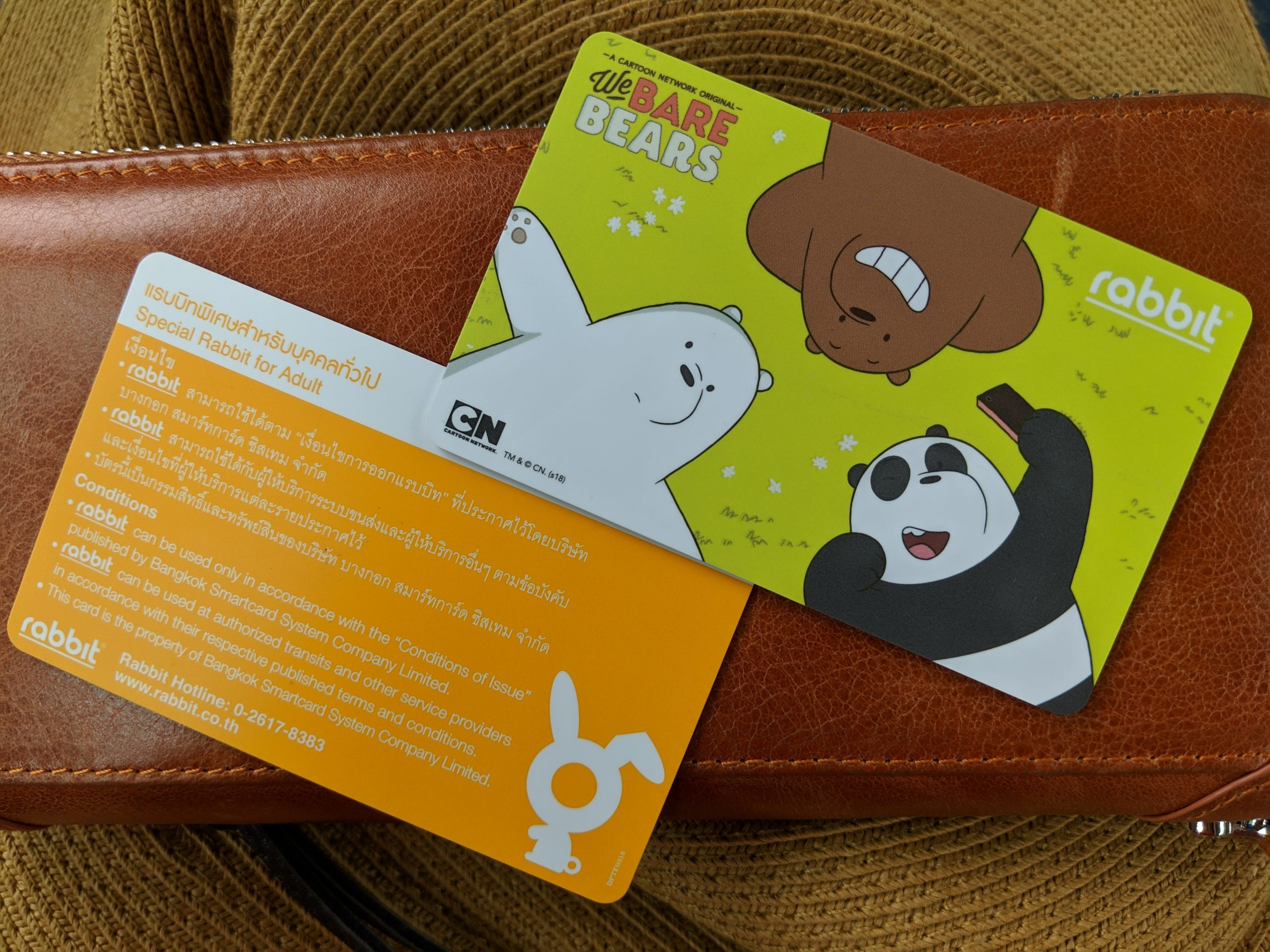 Thailand Rabbit Card
