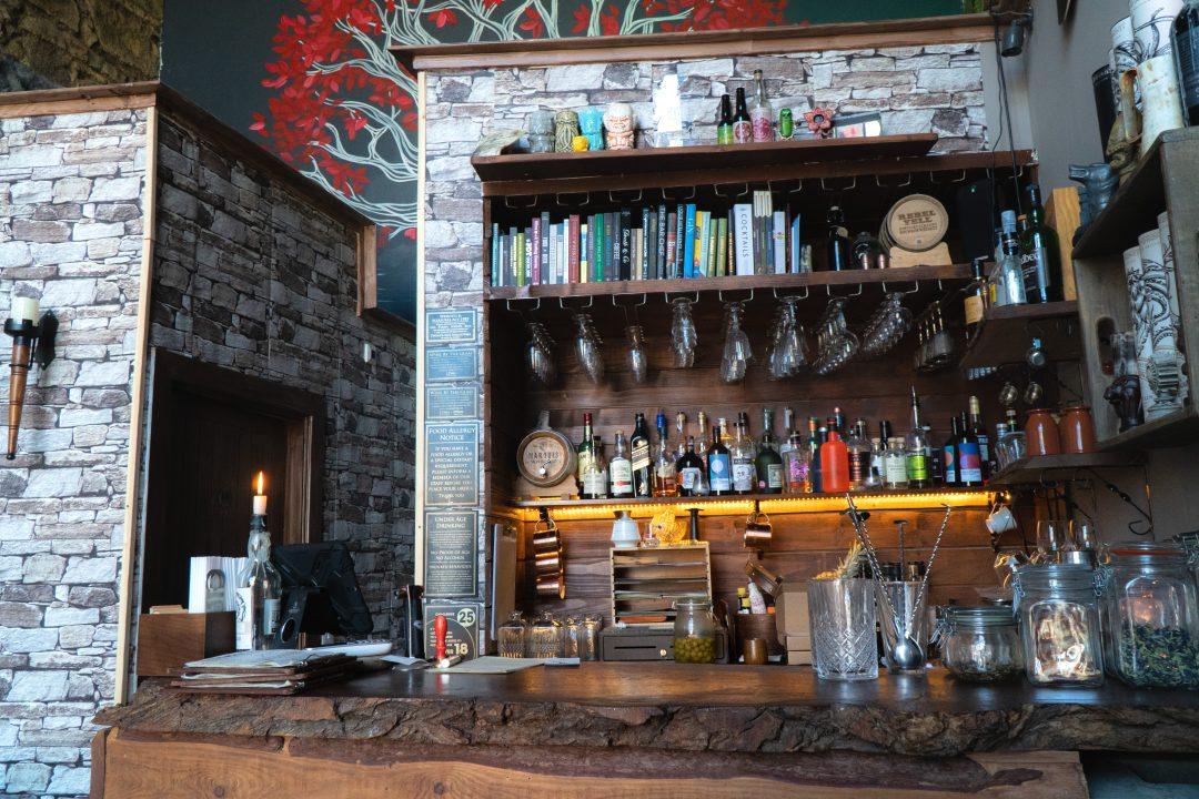 The Pop Up Geeks Bar in Edinburgh