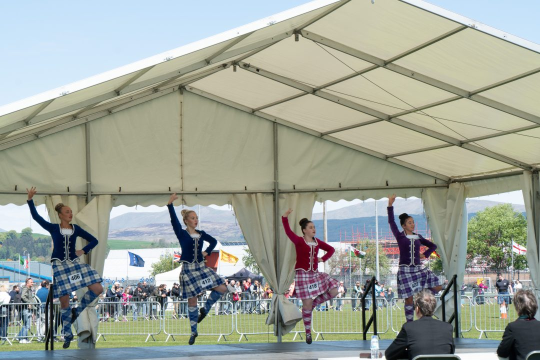 highland dance competition in Scotland