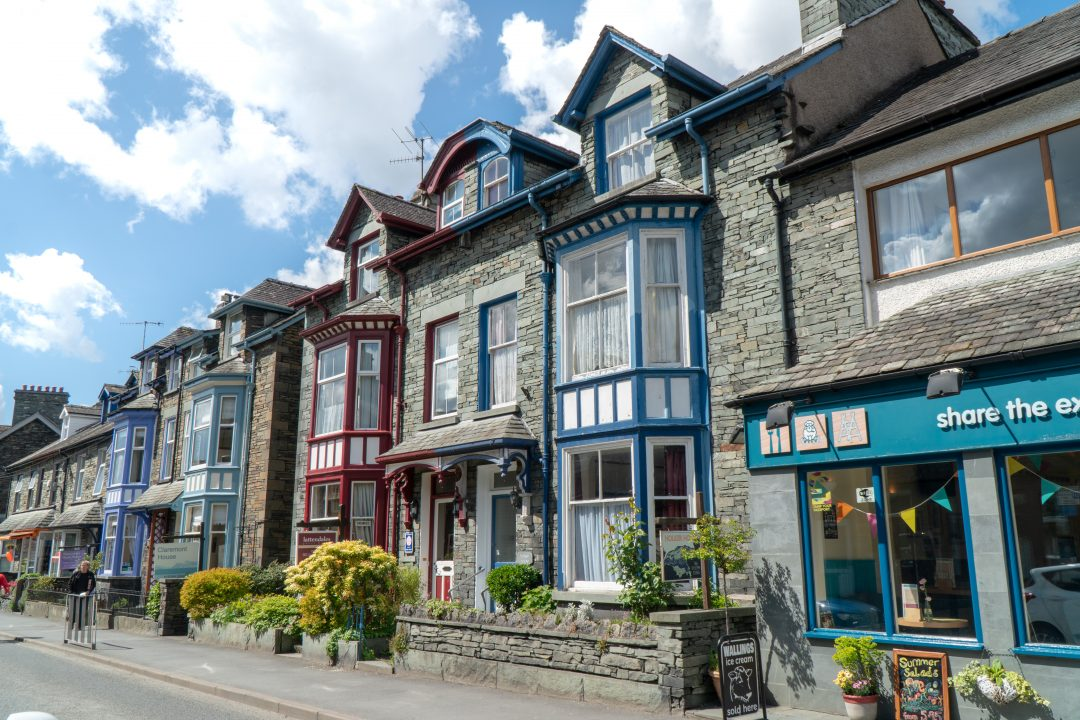 Houses in The Lakes District England