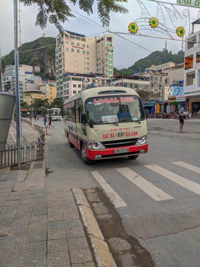 Cat Ba Town Local Bus 1