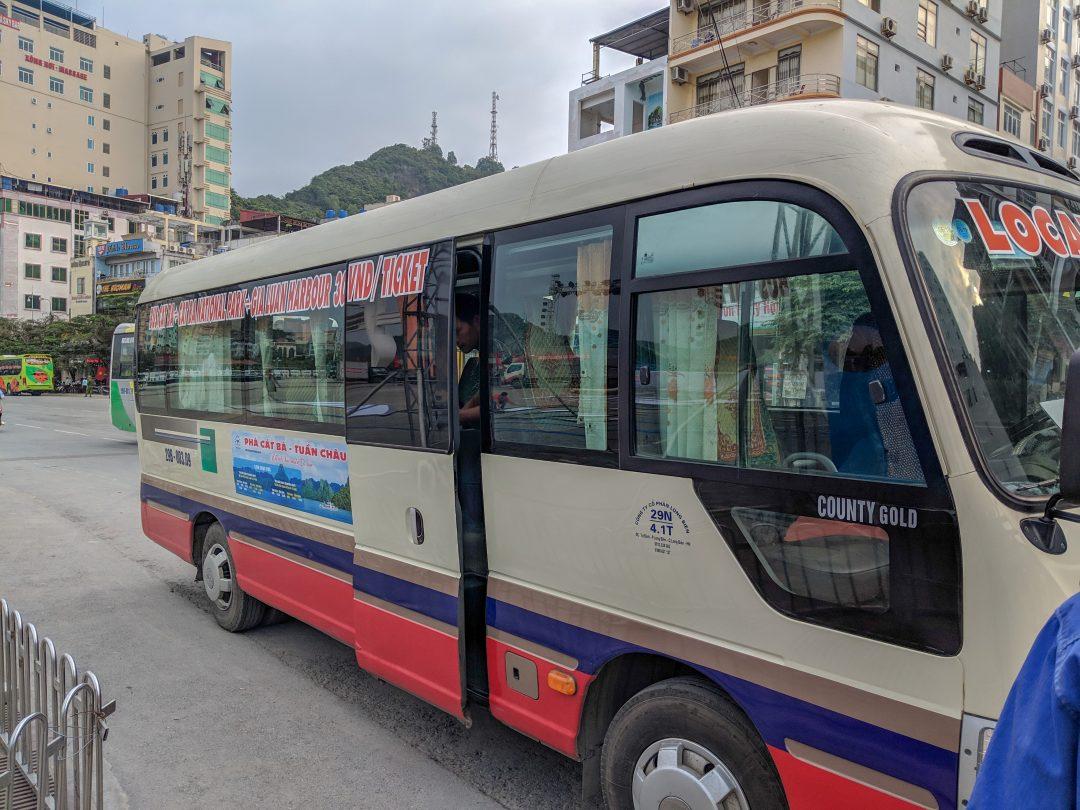 Cat Ba Island Public Bus 2