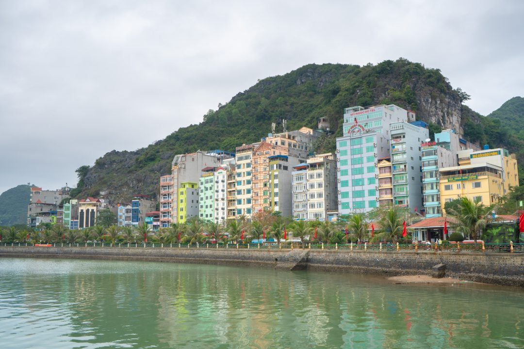 Cat Ba Town Waterfront