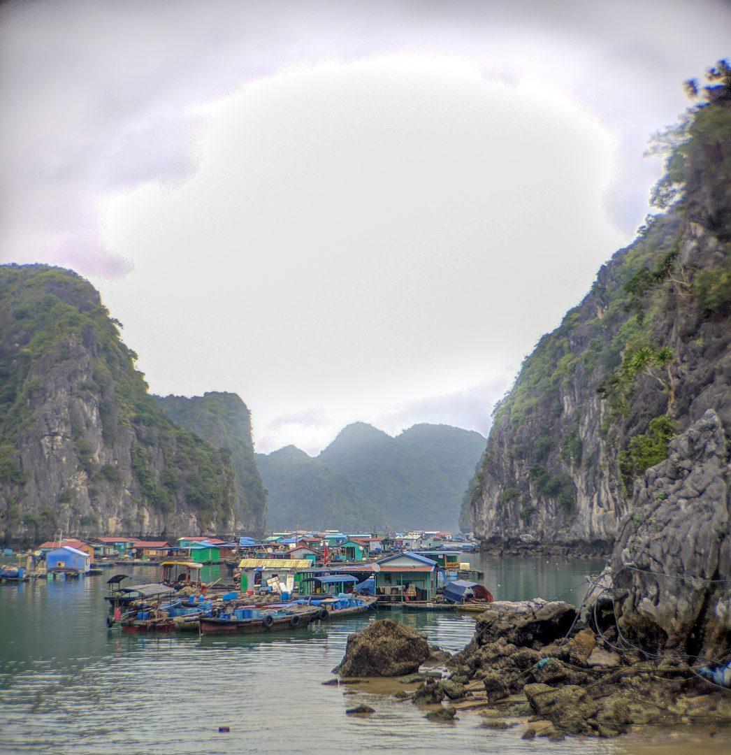 Ha Long Bay Floating Village