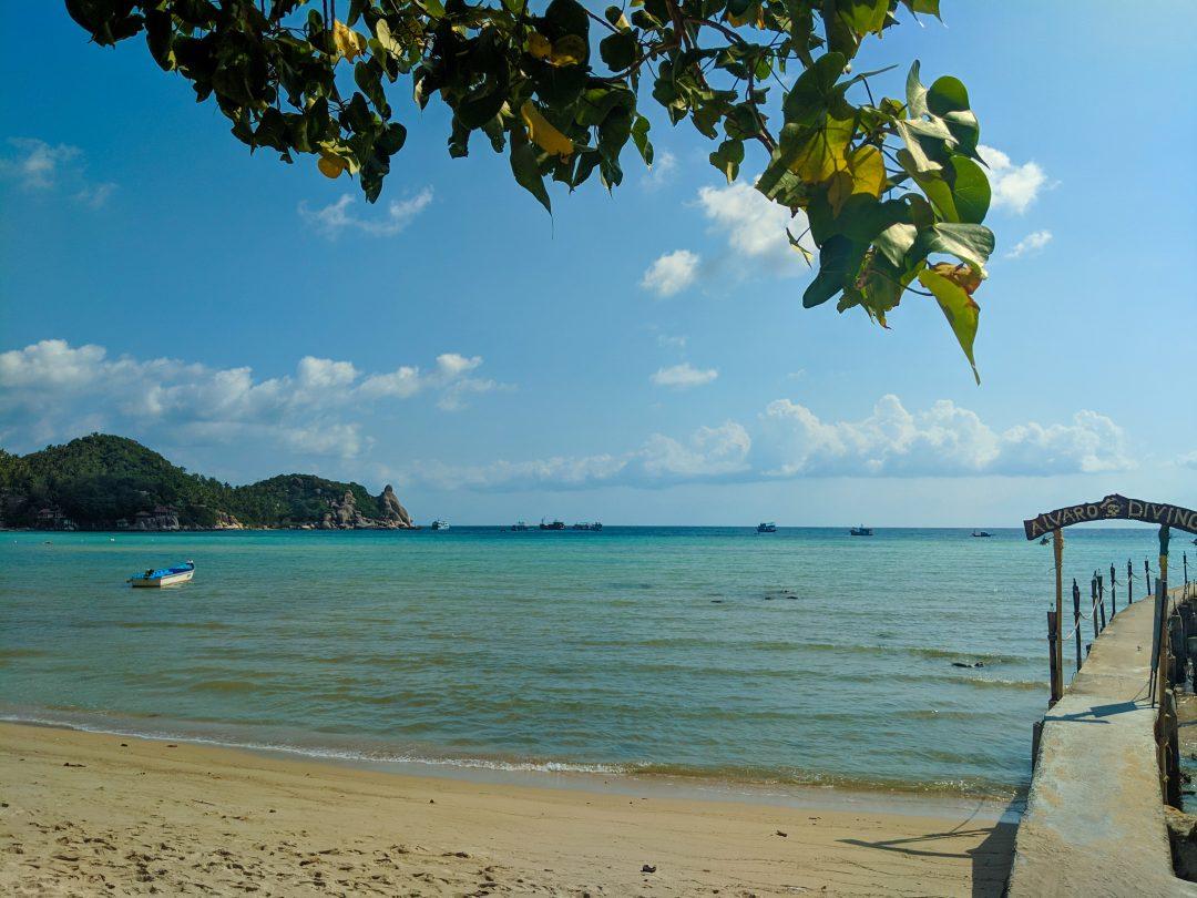 Beach on Koh Tao Thailand