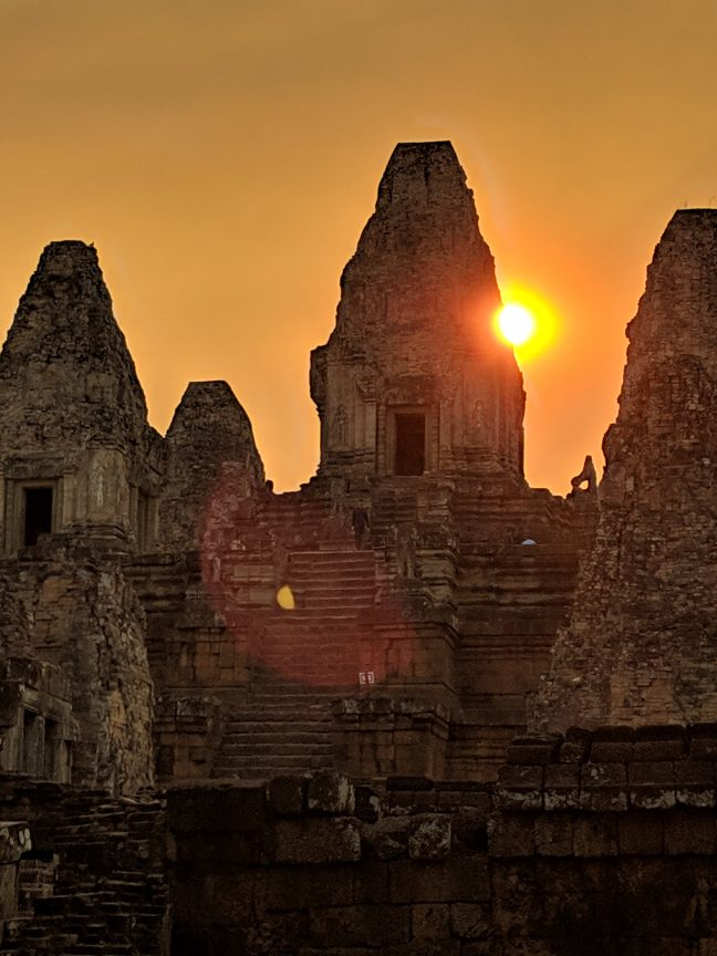 Sunset at Pre Rup Angkor Complex