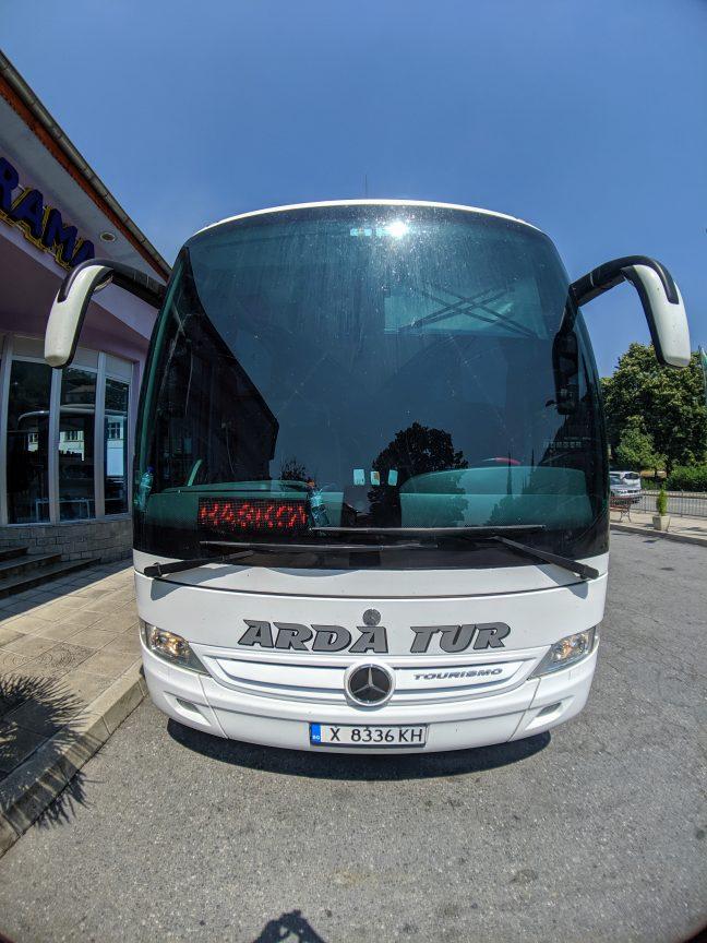 Arda Tur Bus in Greece