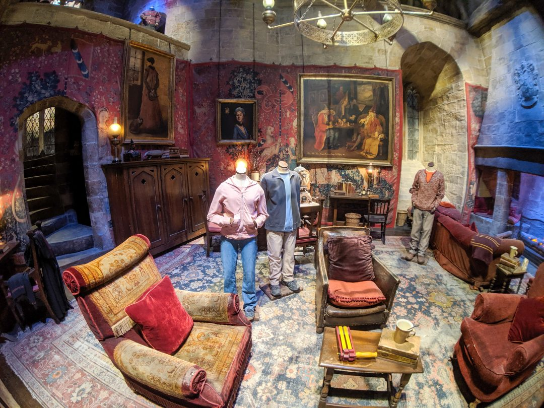 Gryffindor commonroom