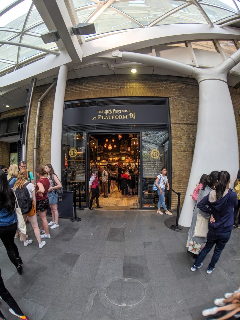Harry Potter Shop at Kings Cross Station