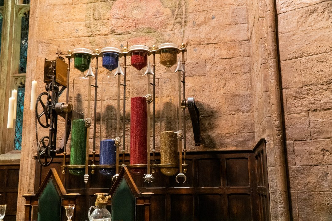 Hogwarts Houses points counter
