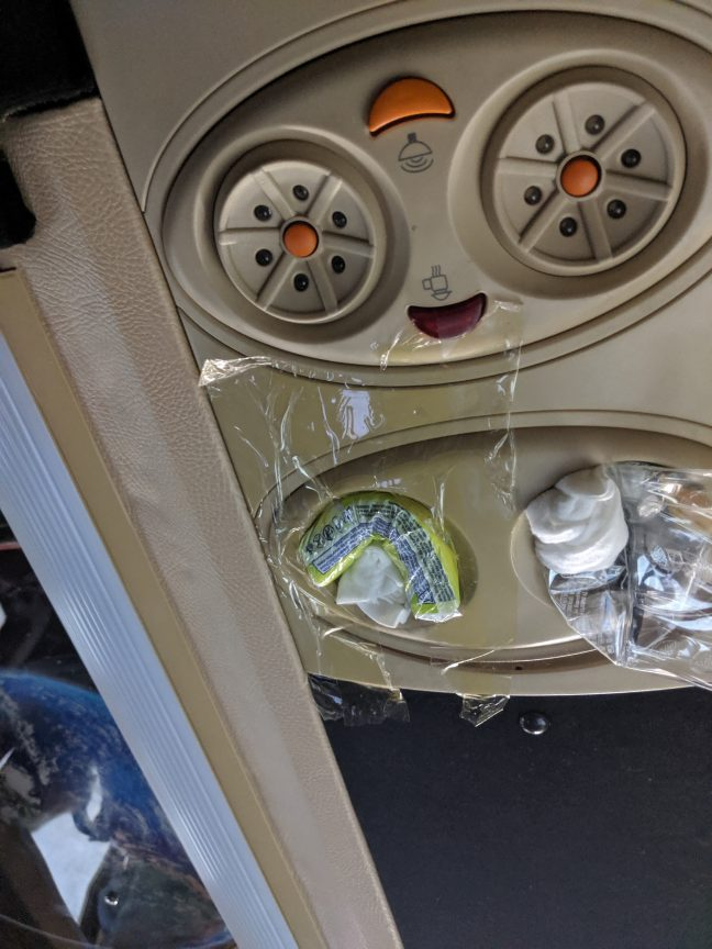 Air conditioning in Augustina Minibus