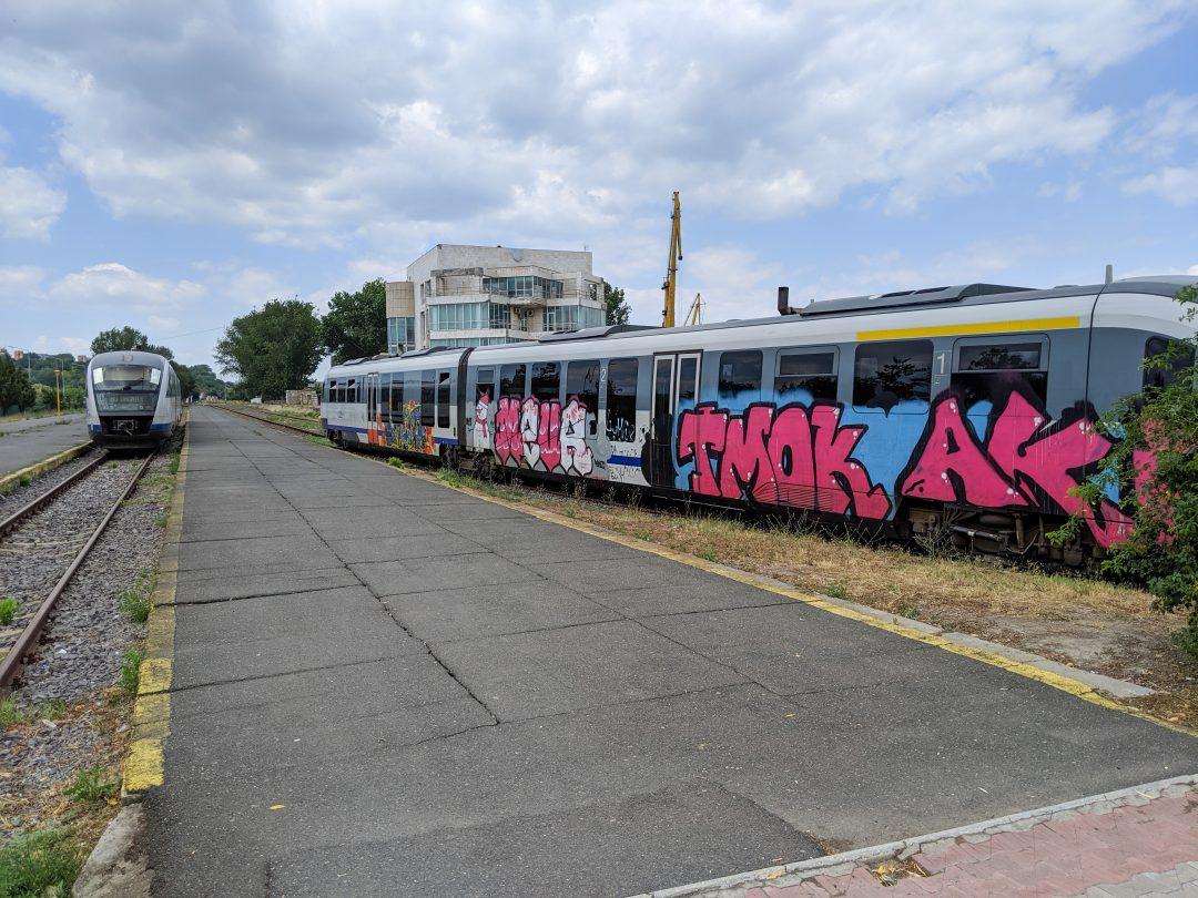 Tulcea to Bucharest Train