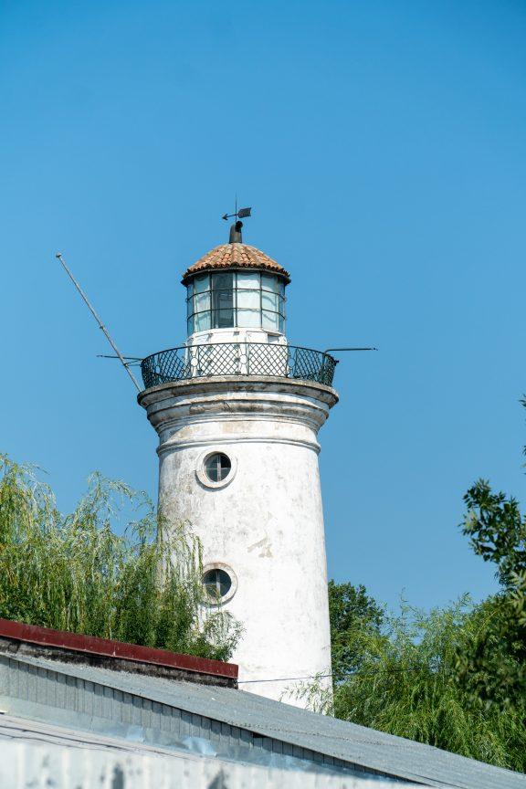 Sulina Lighthouse in Romania