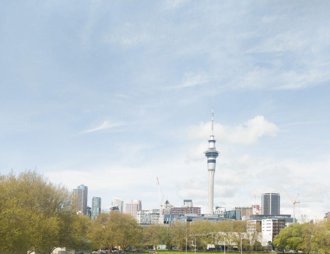 Auckland city Skyline North Island New Zealand