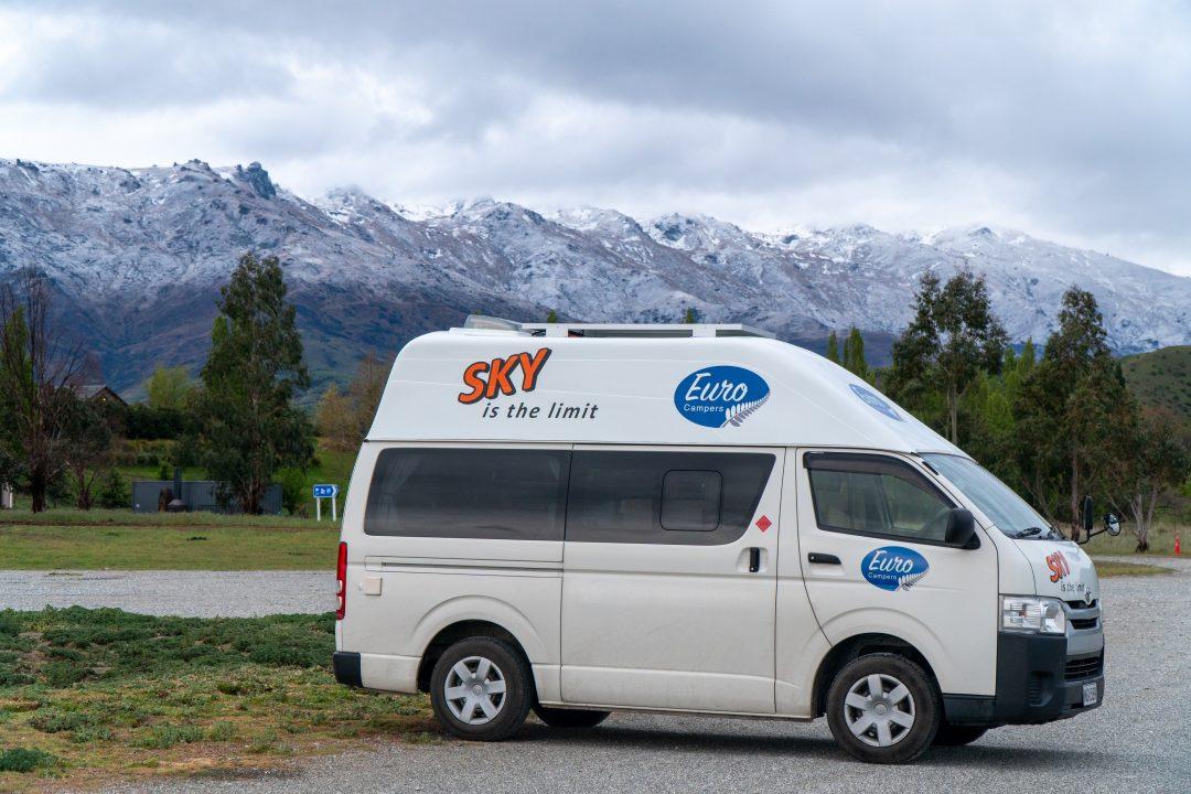 Euro Sky Campervan Freedom Camping