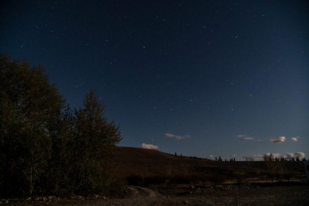 Dark Sky Reserve Landscape Aoraki Mckenzie