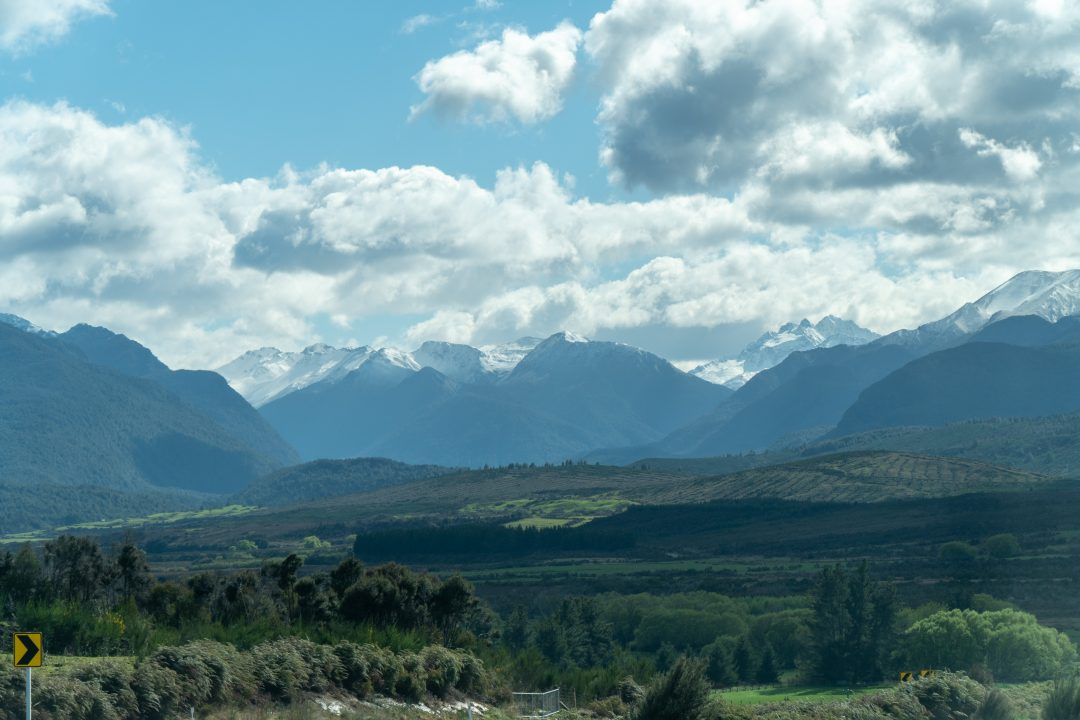 Driving Through Fiordland National Park