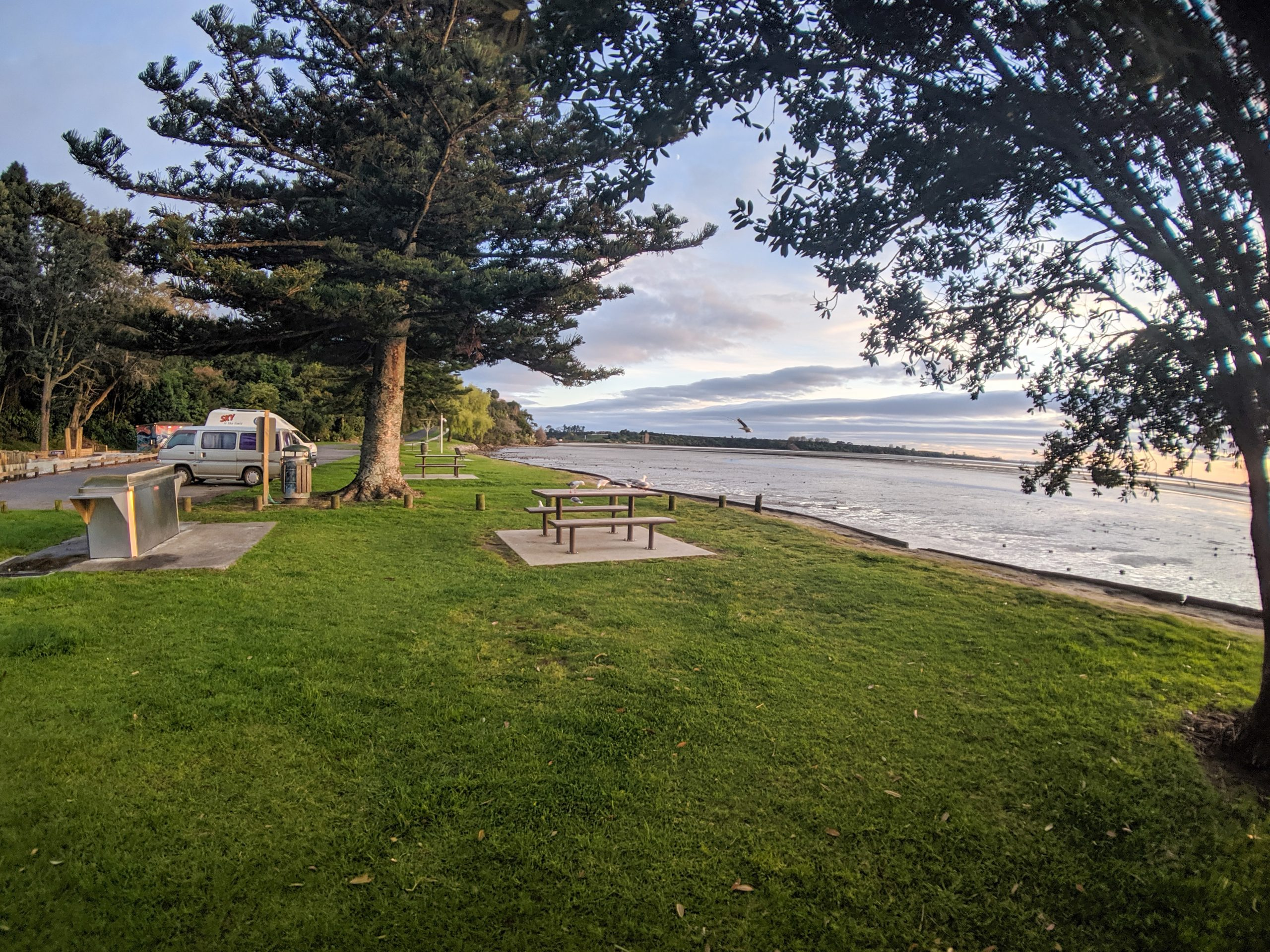 Rotary freedom camping North Island of New Zealand.